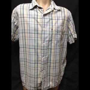 Men's size Large POLO JEANS CO casual button down